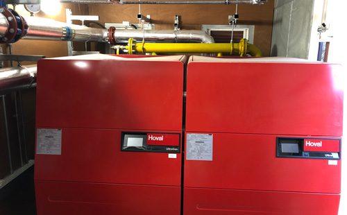 plant room boilers